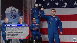 Meet the First Commercial Crew Astronauts - NASA Announcement