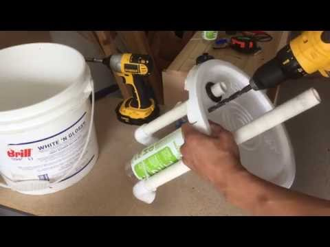 How To Build A Pneumatic Ejector (Air Lift) Pump Using a 3 Gallon Bucket