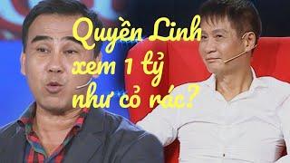 MC Quyền Linh bị Lê Hoàng phản ứng gay gắt khi xem 1 tỷ như cỏ rác Đối mặt cảm xúc tập 16