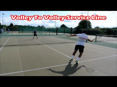 Thumbnail: Fun Tennis Drills for Volley Reactions | Get Fast Hands At Net
