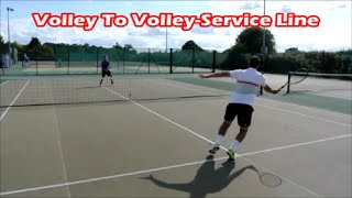 Fun Tennis Drills for Volley Reactions | Get Fast Hands At Net