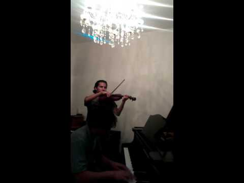 Simple Gifts violin piano duet