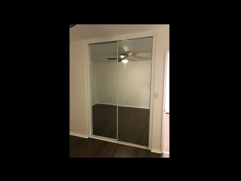How To Install Floor-to-Ceiling Sliding Closet Doors By Co-Know-Pro (YouTube)