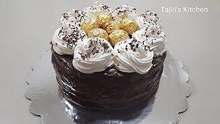 Keki Jinsi Ya Kutengeza Keki Na Kupamba Chocolate Cake Recipe Tajiri&#39s kitchen Cake