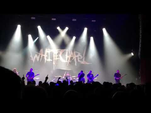 Whitechapel -The Saw Is The Law @ AB BRUXELLES