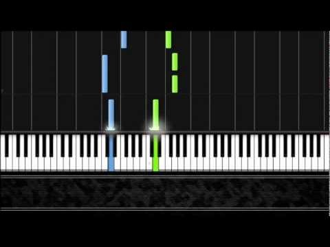Twinkle, Twinkle, Little Star - Easy Piano Tutorial by Pluta-X (50%) Synthesia