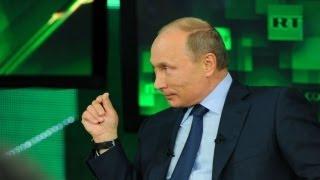 Интервью Владимира Путина телеканалу Russia Today (11.06.2013)