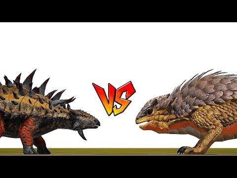 Ark Survival - ANKYLOSAURUS vs THORNY DRAGON [Ep.36]