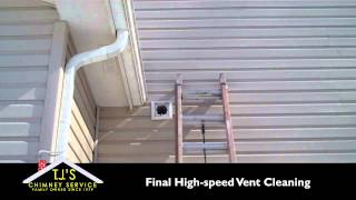 Dryer Vent Cleaning from TJs Chimney Service - Greenfield, IN