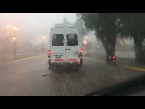 La lluvia complicó el tránsito en Roca | Diario Río Negro