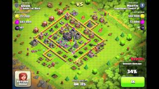 Awesome Clash of Clans 1.3 million Resource Raid!