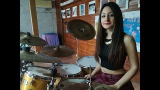 DIRE STRAITS - MONEY FOR NOTHING - DRUM COVER by CHIARA COTUGNO