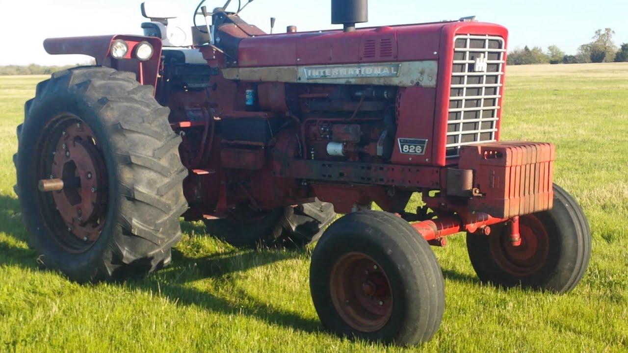 Used Farm Tractors for Sale: **Original Ih 826 Gold Demo (2008-11 ...