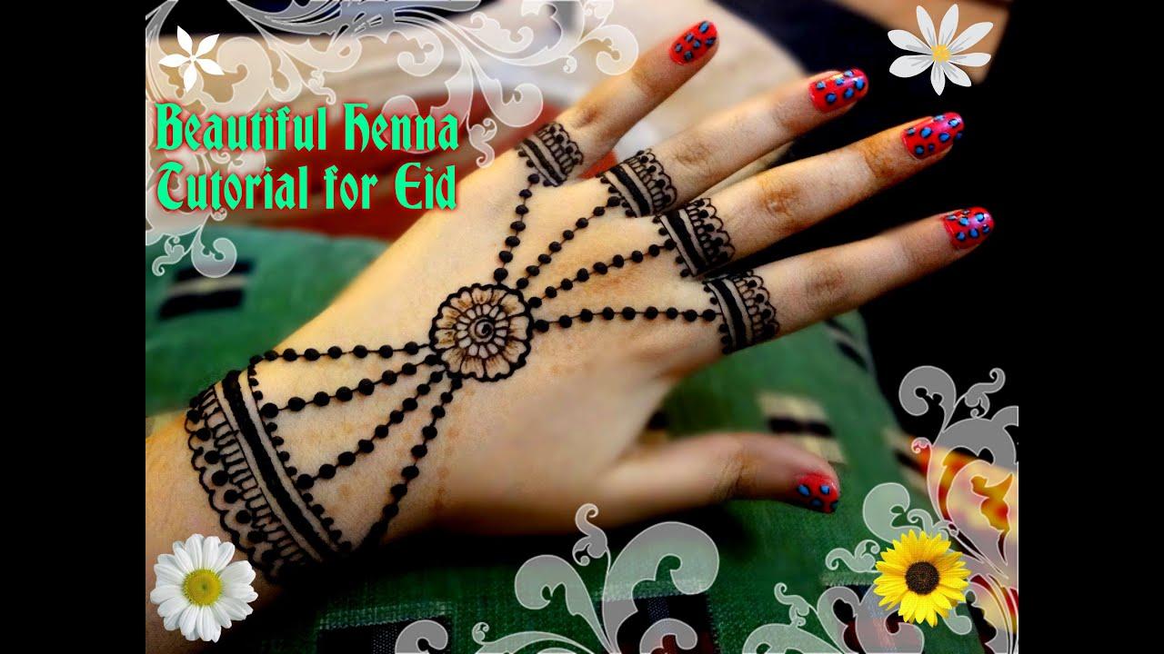 Simple Diy Mehndi Designs : Easy diy best and beautiful ornamental jewellery henna