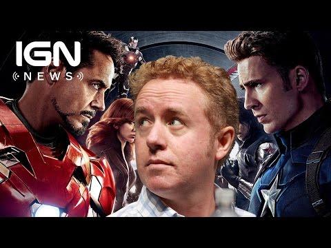 Civil War Comics Writer Mark Millar Not a Big  of Movie  IGN