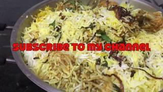 #ChickenDumBiryani Recipe   Hyderabadi Chicken Biryani   Chicken Biryani Recipe In Telugu  