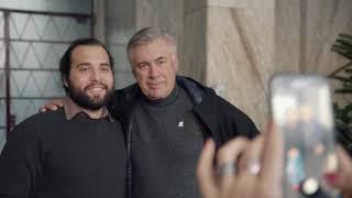 Carlo Ancelotti sorprende i tifosi del Napoli