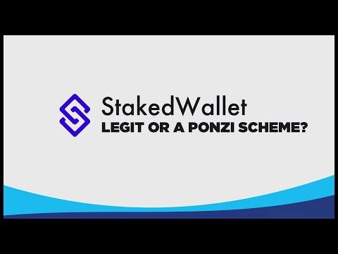 Staked Wallet – Legit or Ponzi scheme?