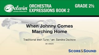 Download When Johnny Comes Marching Home, arr. Sandra Dackow – Score & Sound MP3 song and Music Video