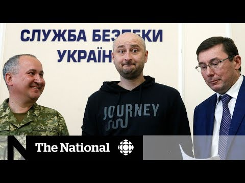 Ukraine faked journalist Arkady Babchenko's death to protect him from Russia