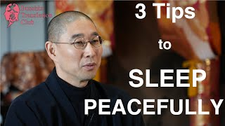 3 tips to sleep peacefully at lonely night