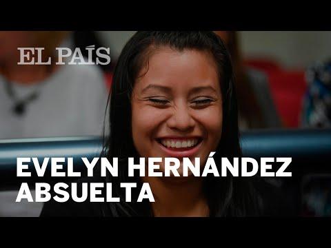 Evelyn Hernández absuelta después de haber sido acusada por aborto