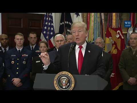 President Trump Signs H.R. 2810, National Defense Authorization Act for Fiscal Year 2018