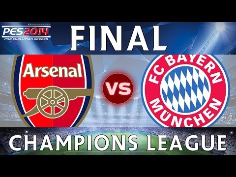 [TTB] PES 2014 - Arsenal CL Series - Arsenal Vs Bayern Munich - CHAMPIONS LEAGUE FINAL