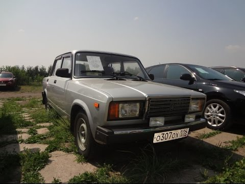 ВАЗ 2107 2011. Обзор автомобиля - YouTube