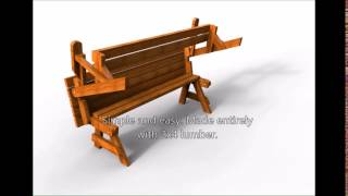 05 WC 0689 Folding Bench Picnic Table Downloadable PDF