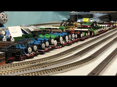Nゲージトーマス 走行会2019 N Scale Thomas Fan Meeting 2019