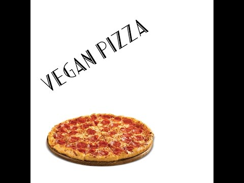 Vegan Fast Food (Pizza)