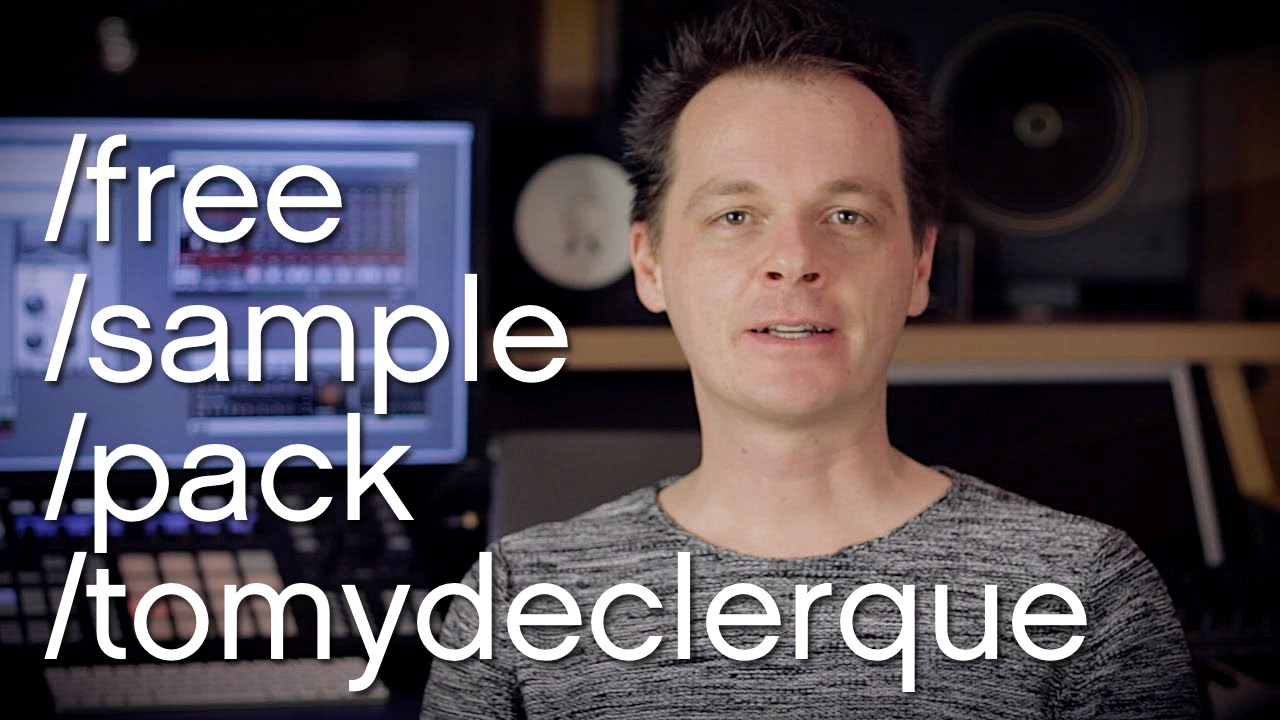 Free Tech House Drum Sample Pack By Tomy DeClerque!