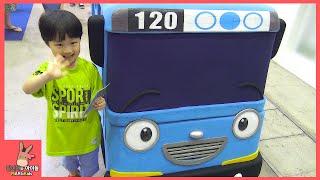 타요 꼬마버스 뽀로로 어린이 장난감 놀이 총집합! 로봇트레인 터닝메카드 헬로 카봇 K캅스 삼국전 다 만났어요 ♡ Tayo Bus Toys | 말이야와아이들 MariAndKids