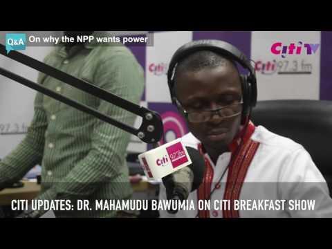 Citi Updates: Dr. Mahamudu Bawumia defends Akufo Addo