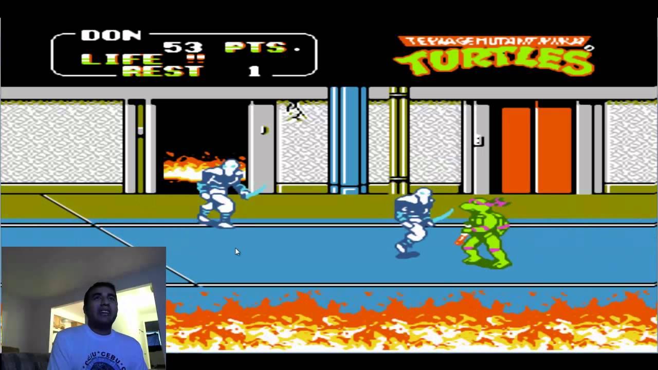 Las Tortugas Ninja De Nintendo Comentado Por Duxativa Youtube