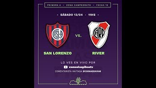 San Lorenzo 1 - 3 River | #VamosLasPibas | Fútbol Femenino