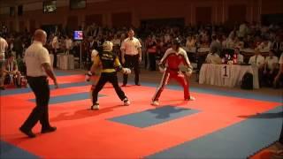Nick Ramael v Selim Kocaoğlu WAKO Senior World Kickboxing Championships 2013 Antalya / Turkey