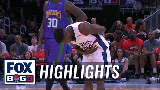 Tri State vs 3 Headed Monsters | BIG3 HIGHLIGHTS