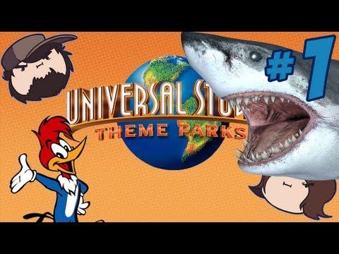 Universal Studios Theme Parks Adventure: Guess Who? - PART 1 - Game Grumps |