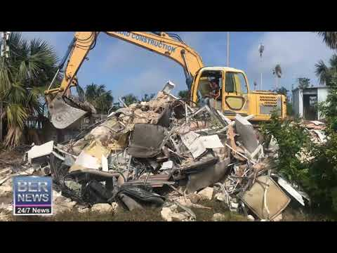 Old Stadium Cottage Demolished, February 12 2020
