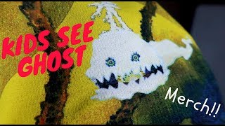 Kids See Ghosts MERCH!! (UNBOXING/REVIEW)