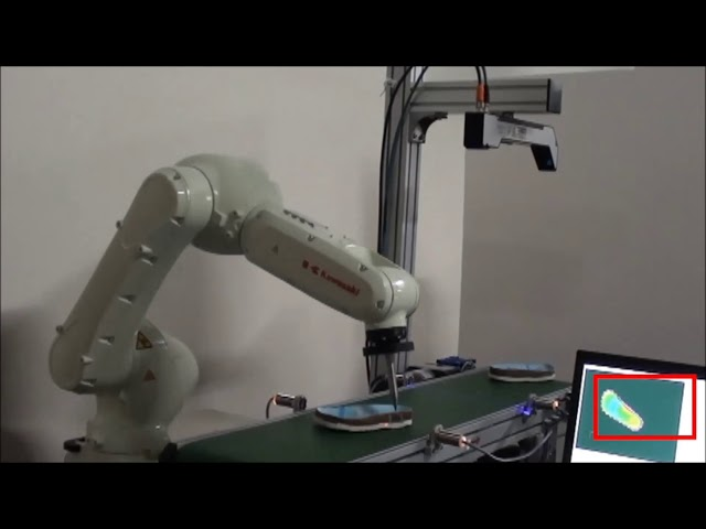 3D Modeling & Glue Path of Shoe Soles using QuellTech Laser Scanner and Kawasaki Robot