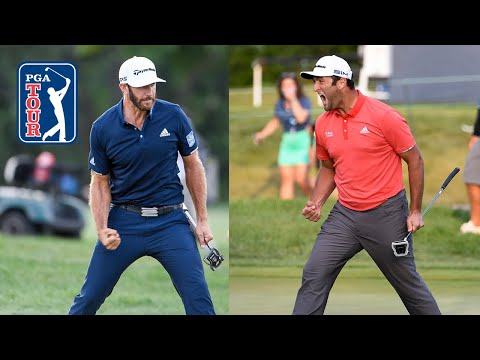 DJ and Rahm's incredible putts in 2020 BMW Championship | Player reactions