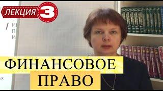 Финансовое право. Лекция 3. Бюджет и финансовая система РФ. Доходы и расходы. Уровни.