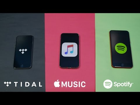 Tidal vs Apple Music vs Spotify (Stream Quality Test, Features & Music Library) Mp3