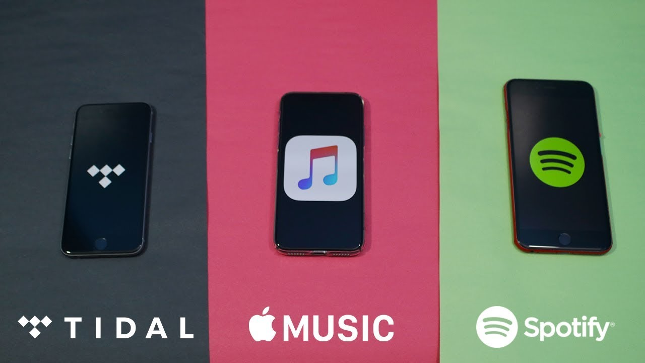 Tidal vs Apple Music vs Spotify (Stream Quality Test, Features & Music  Library)