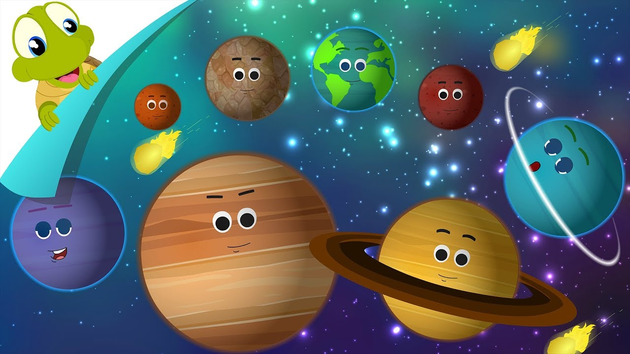 Planets of Solar system | Planet song | Kids Solar System Song