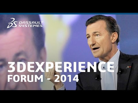 Bernard Charlès - Dassault Systèmes Vision - Business in the Age of Experience (3DX Forum 2014)