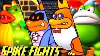 Evolution of Spike Battles (1997-2017)
